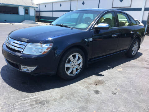 2008 Ford Taurus for sale at CAR-RIGHT AUTO SALES INC in Naples FL