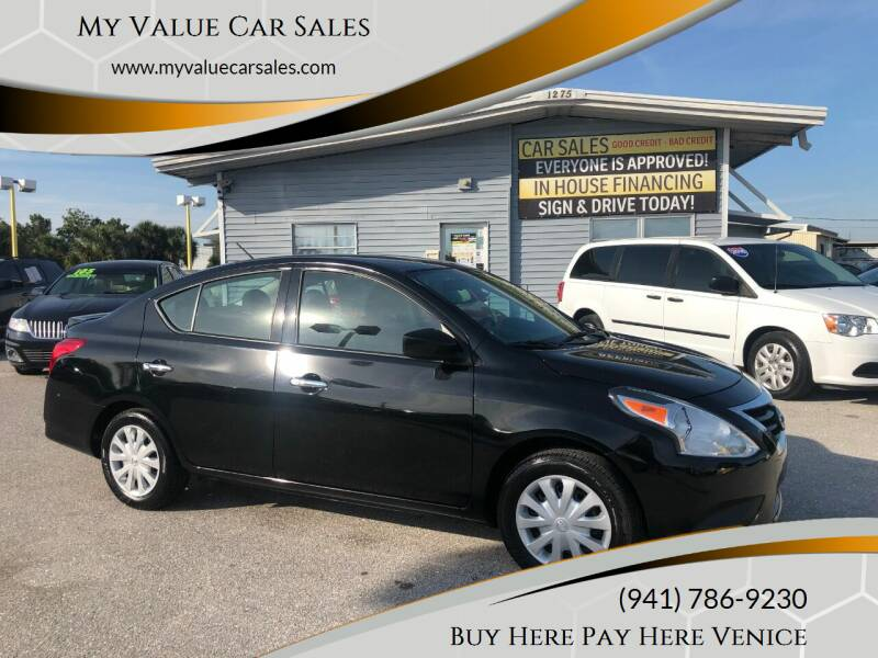 2018 Nissan Versa for sale at My Value Car Sales - Upcoming Cars in Venice FL