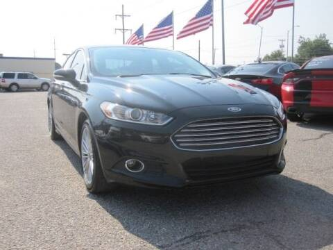 2015 Ford Fusion for sale at T & D Motor Company in Bethany OK