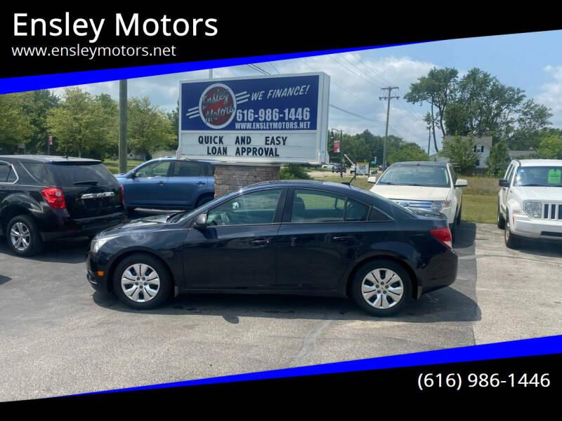 2014 Chevrolet Cruze for sale at Ensley Motors in Allendale MI
