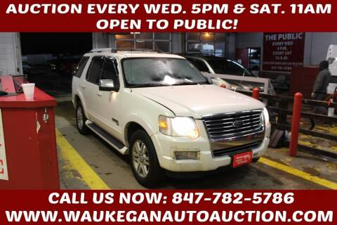 2007 Ford Explorer for sale at Waukegan Auto Auction in Waukegan IL