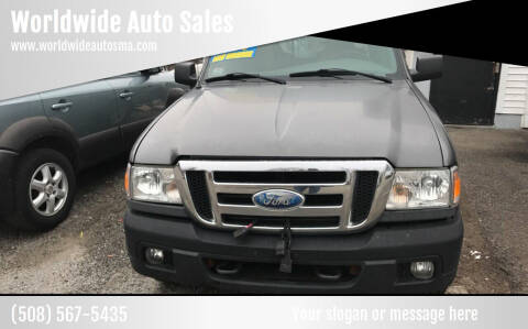 2006 Ford Ranger for sale at Worldwide Auto Sales in Fall River MA