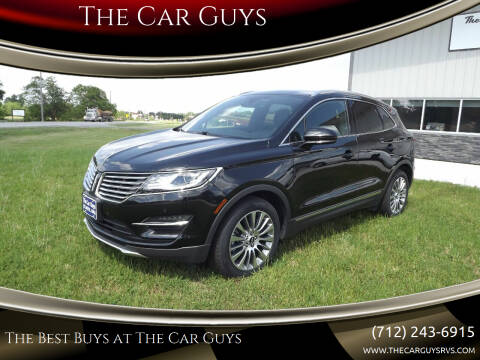 2015 Lincoln MKC for sale at The Car Guys RV & Auto in Atlantic IA