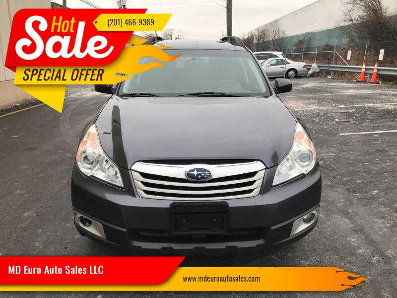 2011 Subaru Outback for sale at MD Euro Auto Sales LLC in Hasbrouck Heights NJ