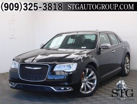 2015 Chrysler 300 for sale at STG Auto Group in Montclair CA