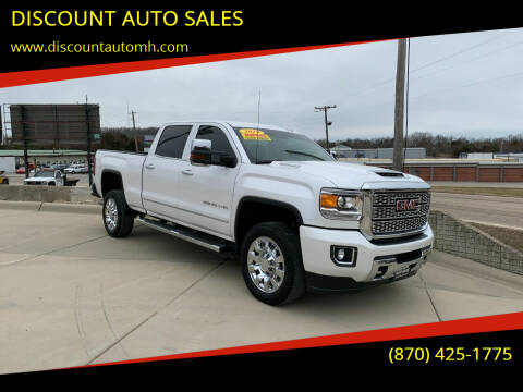 2019 GMC Sierra 2500HD for sale at DISCOUNT AUTO SALES in Mountain Home AR