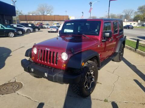 2013 Jeep Wrangler Unlimited for sale at Madison Motor Sales in Madison Heights MI