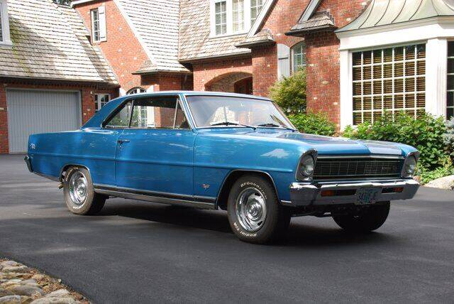 1966 Chevrolet Nova for sale at Uftring Classic Cars in East Peoria IL
