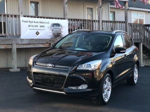 2013 Ford Escape for sale at Flash Ryd Auto Sales in Kansas City KS
