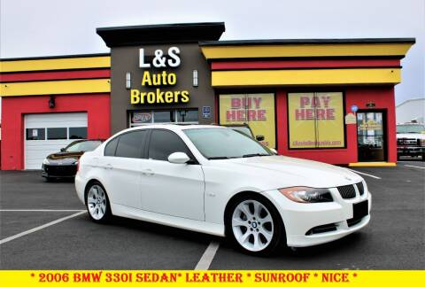 2006 BMW 3 Series for sale at L & S AUTO BROKERS in Fredericksburg VA