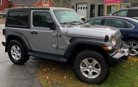 2020 Jeep Wrangler for sale at Past & Present MotorCar in Waterbury Center VT