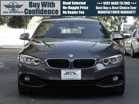 2017 BMW 4 Series for sale at ASAL AUTOSPORTS in Corona CA