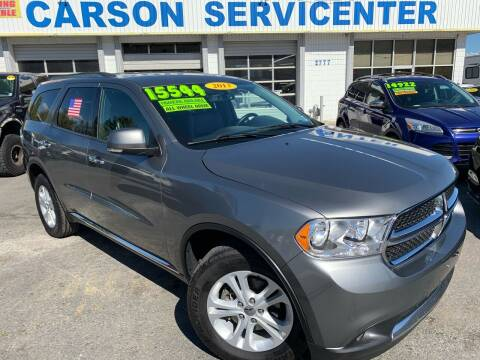 2013 Dodge Durango for sale at Carson Servicenter in Carson City NV