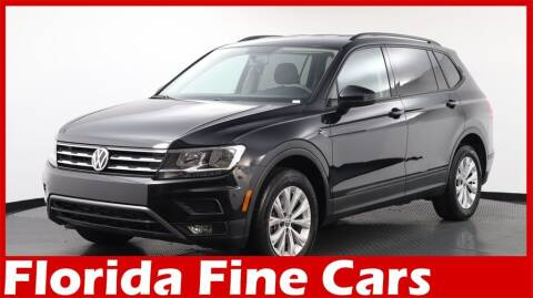 2018 Volkswagen Tiguan for sale at Florida Fine Cars - West Palm Beach in West Palm Beach FL