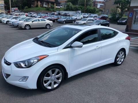 2013 Hyundai Elantra for sale at Fellini Auto Sales & Service LLC in Pittsburgh PA