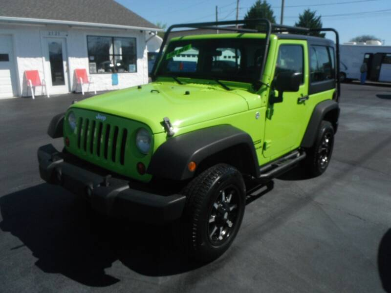2012 Jeep Wrangler for sale at Morelock Motors INC in Maryville TN