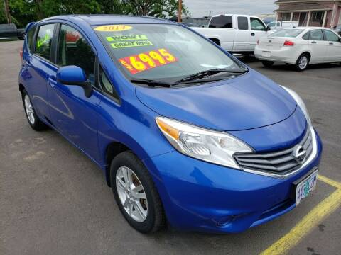 2014 Nissan Versa Note for sale at Low Price Auto and Truck Sales, LLC in Salem OR