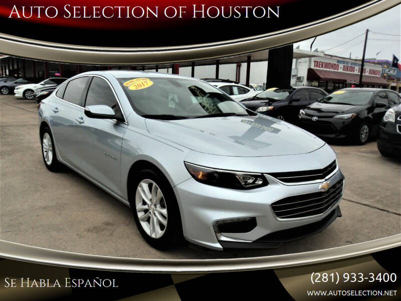 2017 Chevrolet Malibu for sale at Auto Selection of Houston in Houston TX