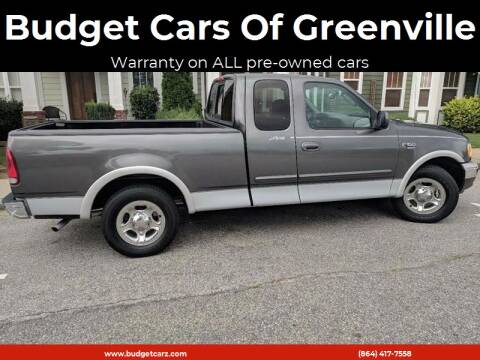 2003 Ford F-150 for sale at Budget Cars Of Greenville in Greenville SC