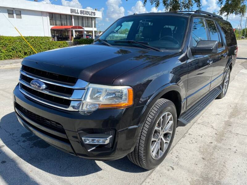 2015 Ford Expedition EL for sale at CACHETEAUTO in Miami FL
