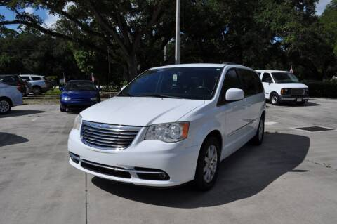 2014 Chrysler Town and Country for sale at STEPANEK'S AUTO SALES & SERVICE INC. in Vero Beach FL