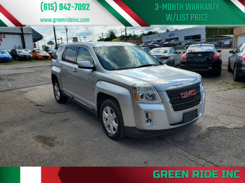 2014 GMC Terrain for sale at Green Ride Inc in Nashville TN