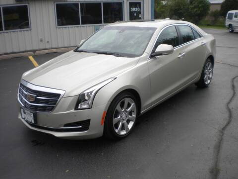 2016 Cadillac ATS for sale at AUTO MART in Oshkosh WI