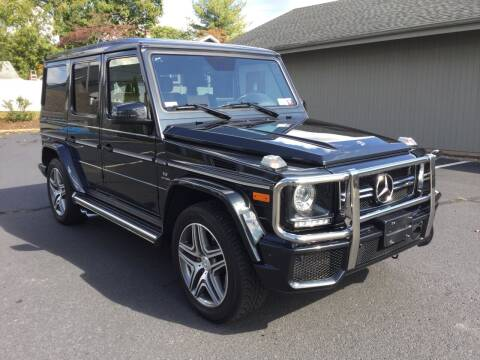 2018 Mercedes-Benz G-Class for sale at International Motor Group LLC in Hasbrouck Heights NJ