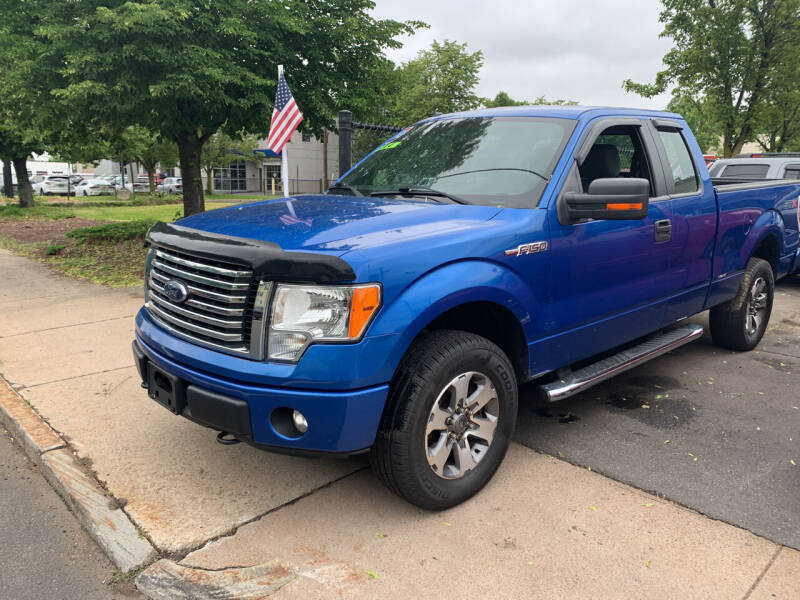 2013 Ford F-150 for sale at CAR CORNER RETAIL SALES in Manchester CT