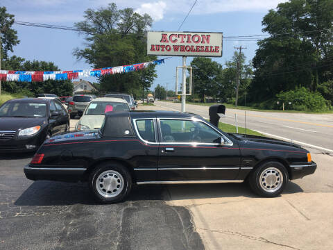 1983 Mercury Cougar for sale at Action Auto Wholesale in Painesville OH