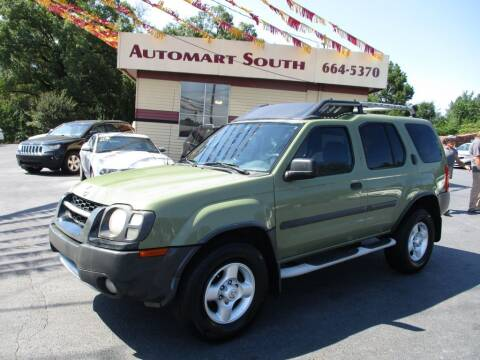2003 Nissan Xterra for sale at Automart South in Alabaster AL