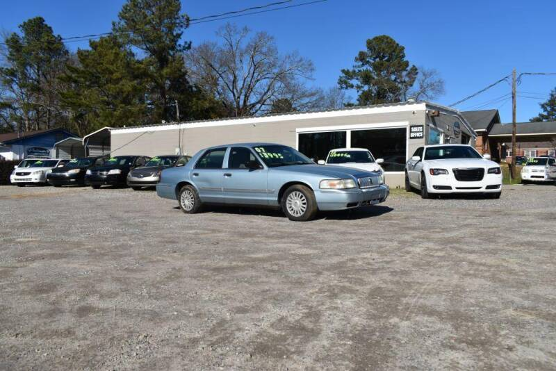 2007 Mercury Grand Marquis for sale at Barrett Auto Sales in North Augusta SC