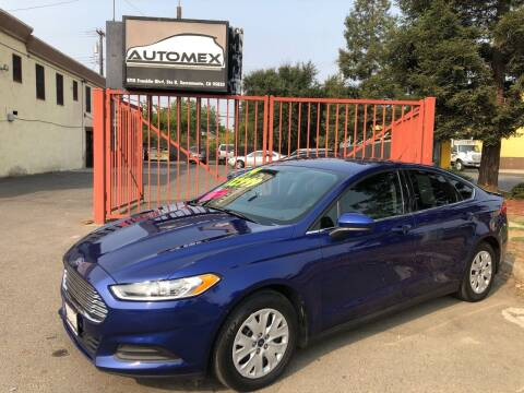 2014 Ford Fusion for sale at AUTOMEX in Sacramento CA