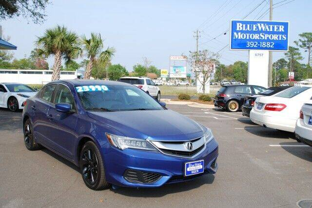 2016 Acura ILX for sale at BlueWater MotorSports in Wilmington NC