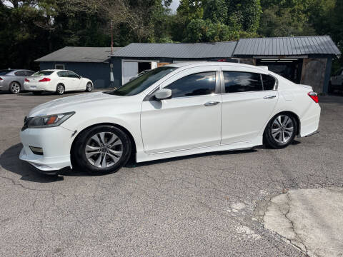 2015 Honda Accord for sale at Adairsville Auto Mart in Plainville GA