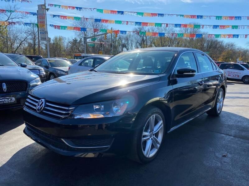 2014 Volkswagen Passat for sale at WOLF'S ELITE AUTOS in Wilmington DE