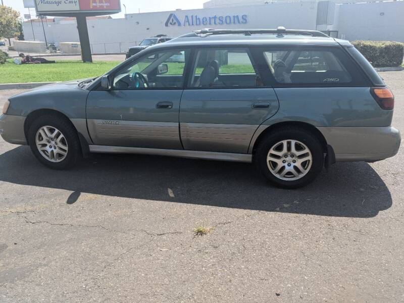 2001 Subaru Outback for sale at Gold Coast Motors in Lemon Grove CA
