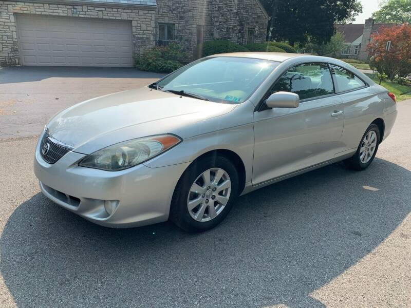 2006 Toyota Camry Solara for sale at Via Roma Auto Sales in Columbus OH