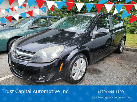 2008 Saturn Astra for sale at Trust Capital Automotive Inc. in Covington GA