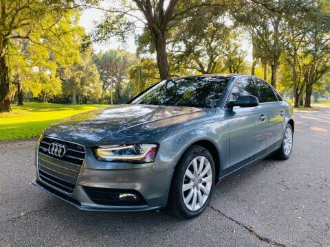 2013 Audi A4 for sale at FLORIDA MIDO MOTORS INC in Tampa FL