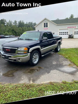 2006 GMC Sierra 1500 for sale at Auto Town Inc in Brentwood NH