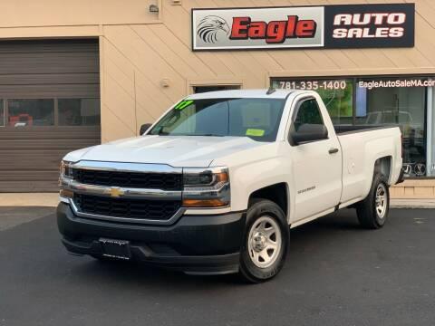 2017 Chevrolet Silverado 1500 for sale at Eagle Auto Sales LLC in Holbrook MA