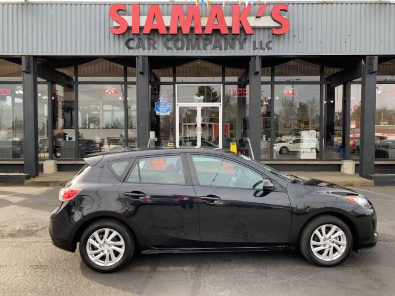 2012 Mazda MAZDA3 for sale at Siamak's Car Company llc in Salem OR