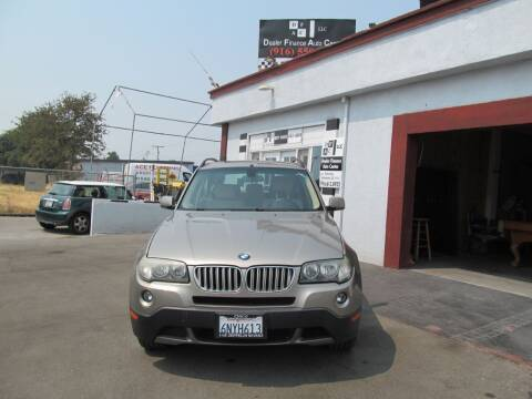 2007 BMW X3 for sale at Dealer Finance Auto Center LLC in Sacramento CA