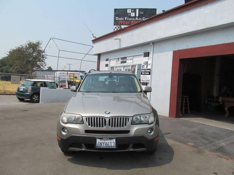 2007 BMW X3 for sale at Dealer Finance Auto Center LLC in Sacramento CA