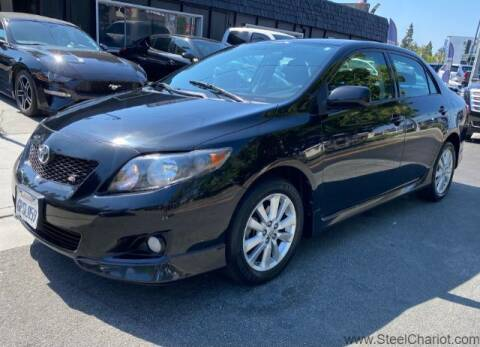 2010 Toyota Corolla for sale at Steel Chariot in San Jose CA