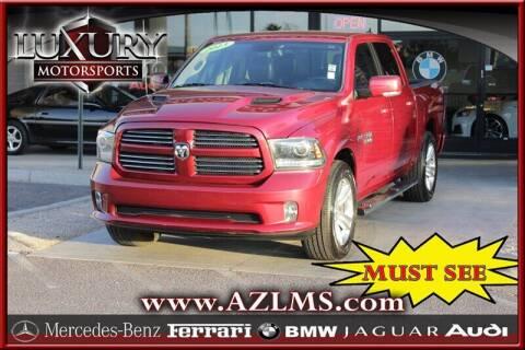2013 RAM Ram Pickup 1500 for sale at Luxury Motorsports in Phoenix AZ