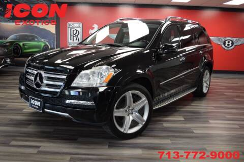 2011 Mercedes-Benz GL-Class for sale at Icon Exotics in Houston TX