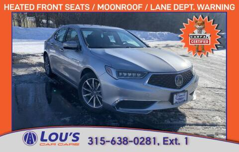 2018 Acura TLX for sale at LOU'S CAR CARE CENTER in Baldwinsville NY