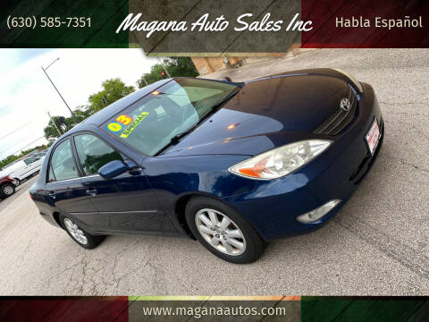 2003 Toyota Camry for sale at Magana Auto Sales Inc in Aurora IL